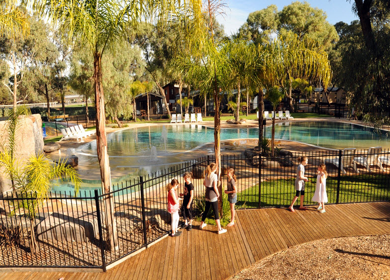 BIG4 Renmark Riverfront Caravan Park - Accommodation Australia