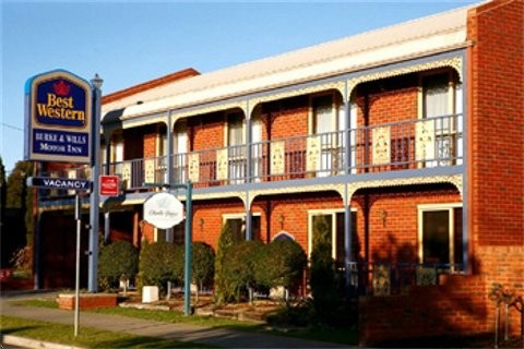 Best Western Burke amp Wills Motor Inn - Accommodation Australia