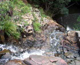 Gypsy Falls Waterfall   Retreat - Accommodation Australia