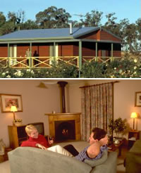 Twin Trees Country Cottages - Accommodation Australia