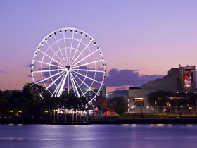 The Wheel of Brisbane - Accommodation Australia