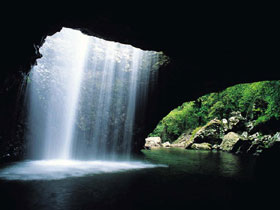 Natural Bridge Springbrook National Park - Accommodation Australia