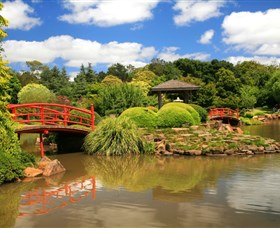 Japanese Gardens - Accommodation Australia