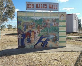 Ben Halls Wall - Accommodation Australia