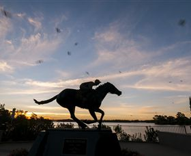 Black Caviar Statue - Accommodation Australia