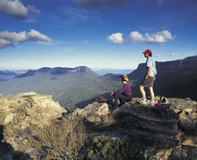 Blue Mountains National Park - National Pass - Accommodation Australia