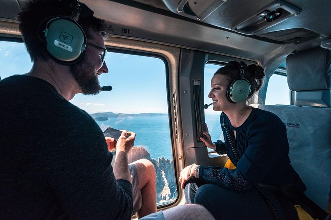 15-Minute Sea Cliffs and Convicts Helicopter Flight from Port Arthur