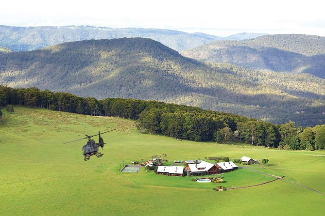 Helicopter Tour - Spicers Peak Lodge