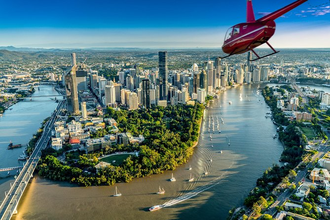 Private Helicopter Scenic Tour of Brisbane - 20min