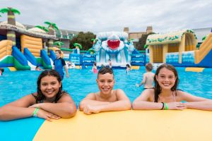 Waterworld Central - Mobile Inflatable Waterpark - Accommodation Australia