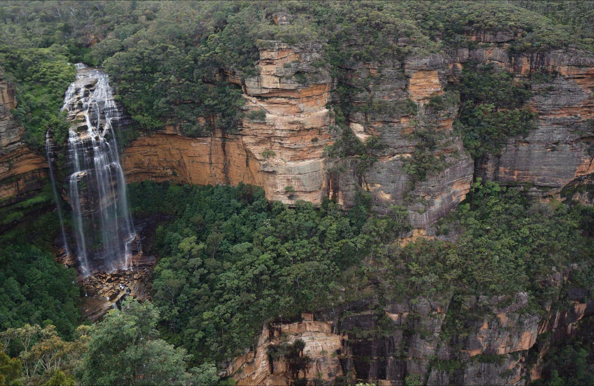 Wentworth Falls Lookout - Accommodation Australia