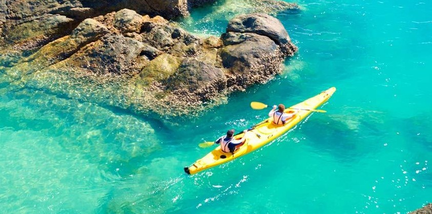 Salty Dog Sea Kayaking - Accommodation Australia