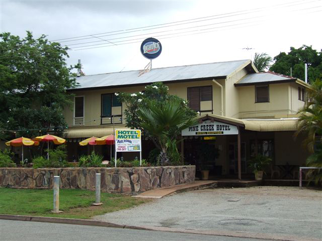Pine Creek Hotel/Motel - Accommodation Australia