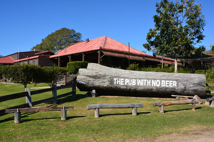 The Pub With No Beer - Accommodation Australia