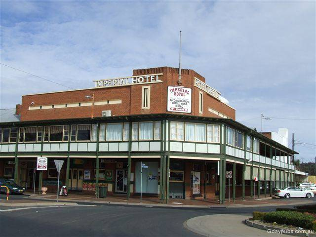 Imperial Hotel Coonabarabran - Accommodation Australia