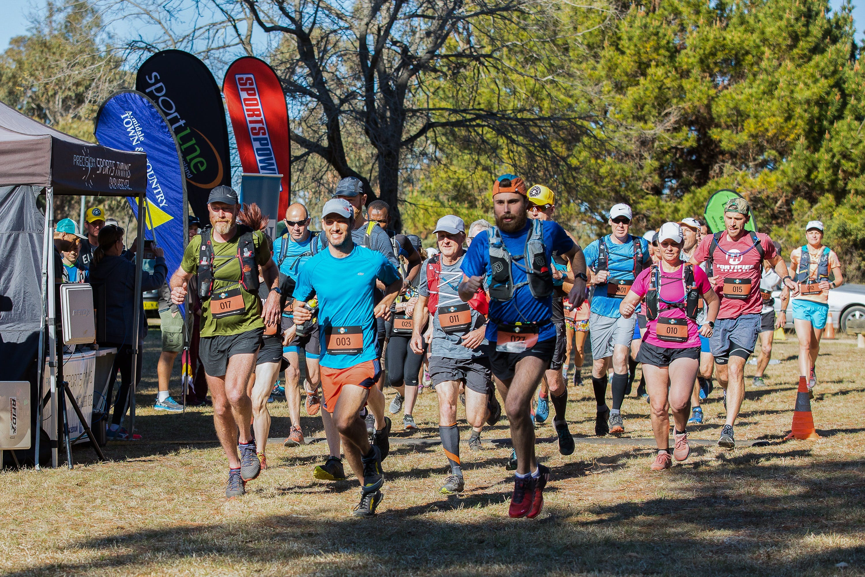 Duval Dam Buster Trail Run - Accommodation Australia