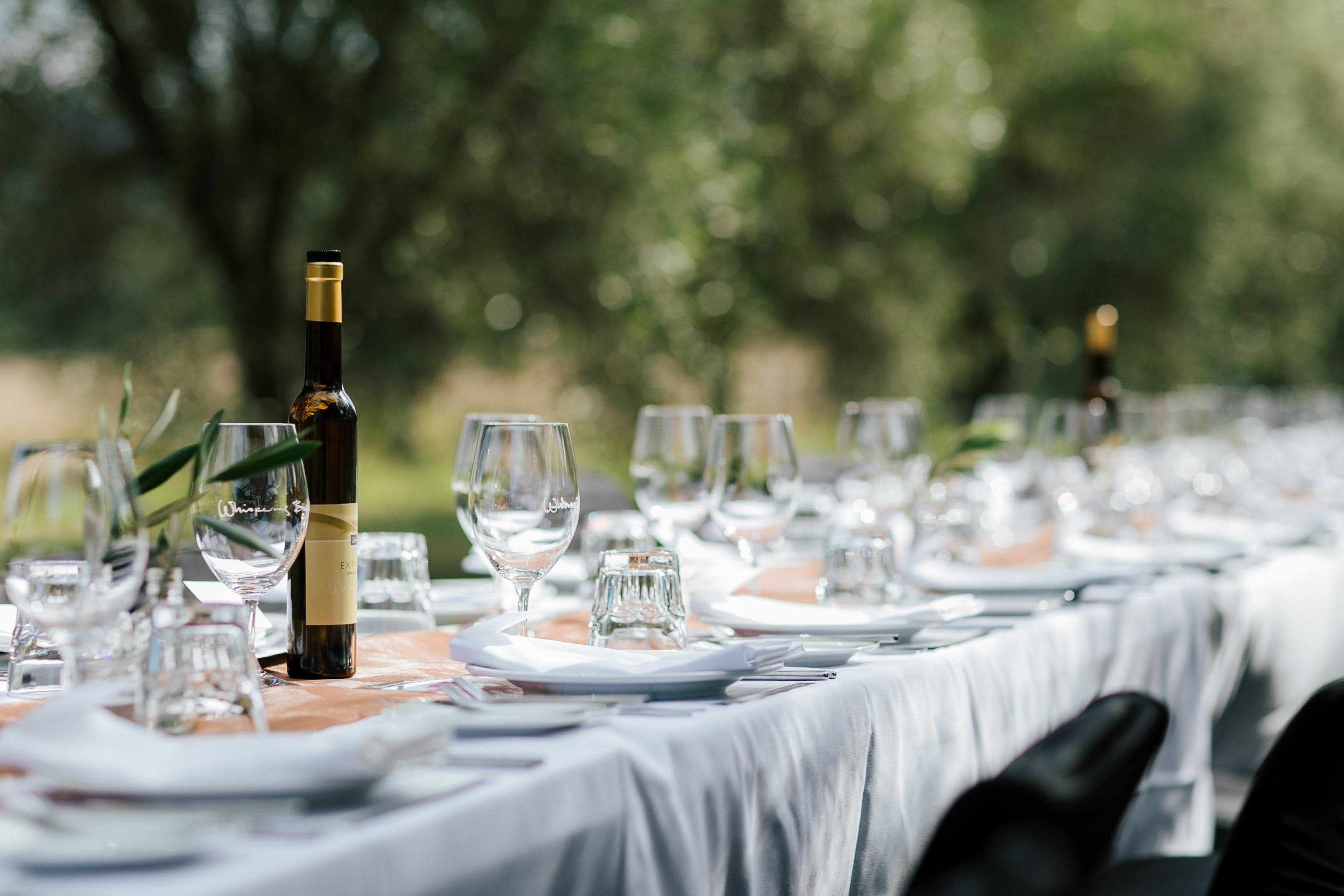 Whispering Brook Olive Long Table Luncheon - Accommodation Australia