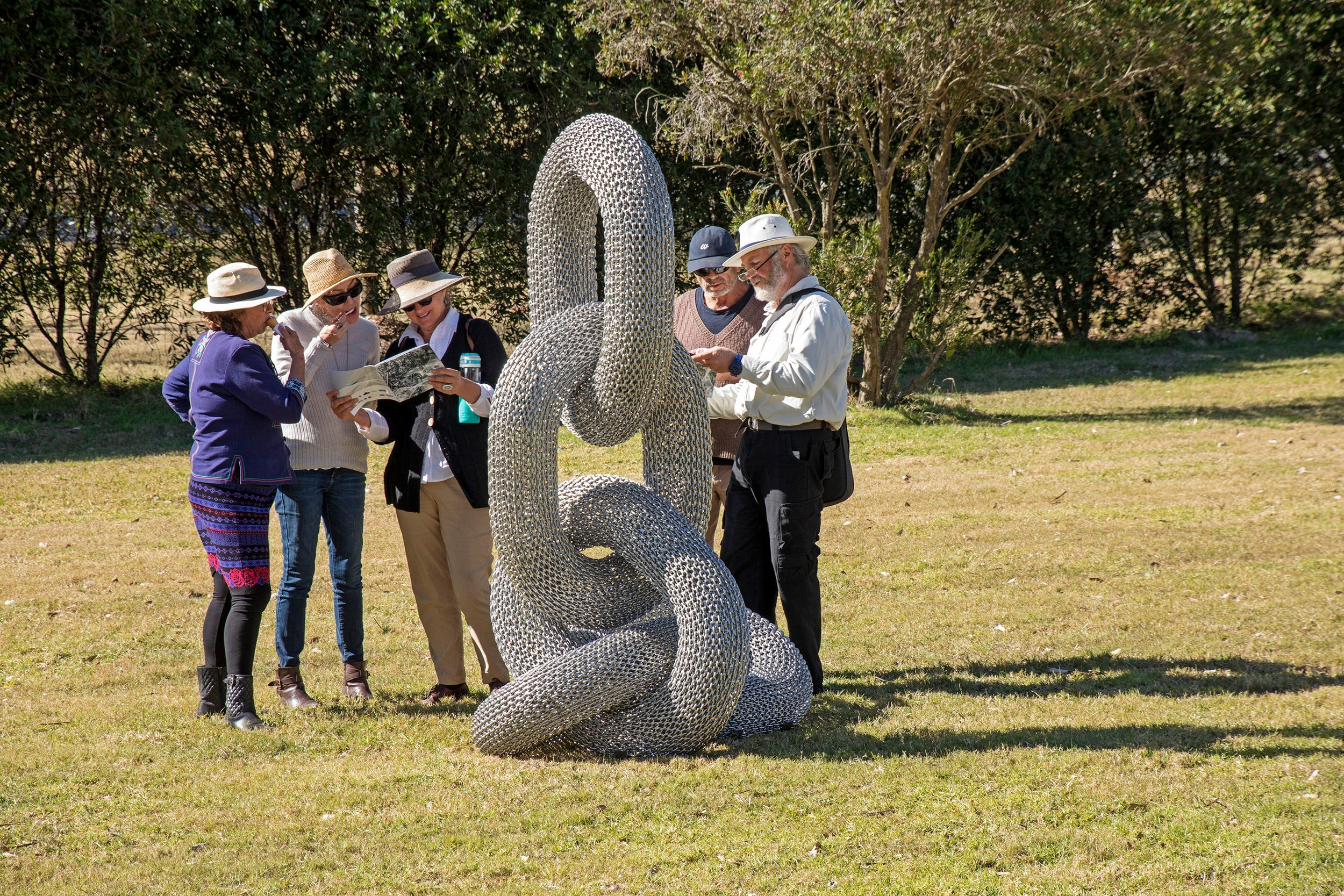 Sculpture for Clyde - Outdoor Exhibition - Accommodation Australia